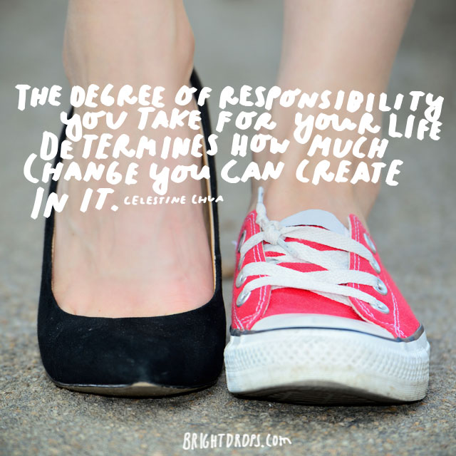 Learn to take responsibility quotes