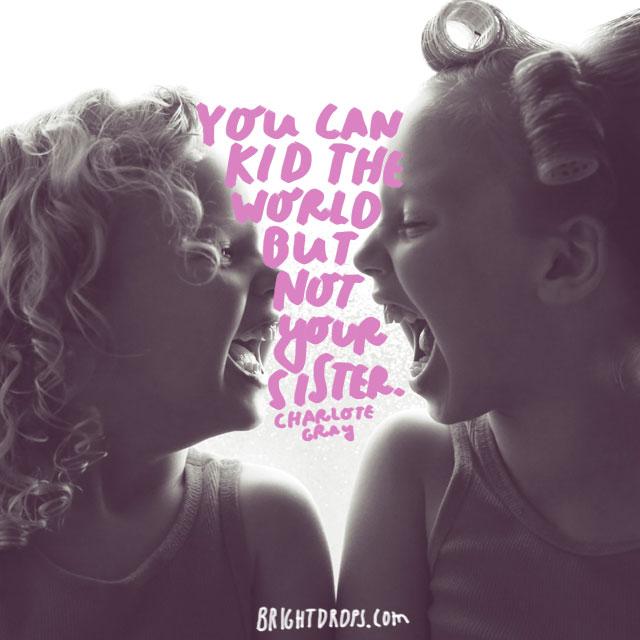 Not sweet sisters kissing