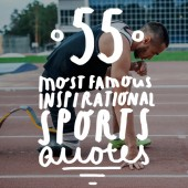 Whether you need inspiration as an athlete, in your work life, or just life in general, these famous inspirational sports quotes will help you find your place and motivate you like nothing else can.