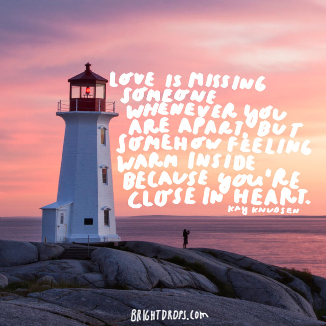 60 Uplifting Quotes on Long Distance Relationships Adorable Distance Love Quotes