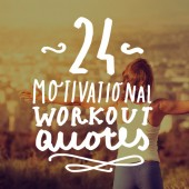 Time to hit the gym. If you need a little motivation, check out this list of motivational workout quotes before you head out.