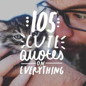 These quotes are the cutest! Love this list.