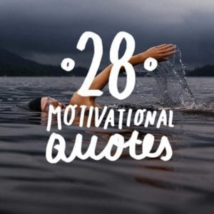 Looking for words to fuel your drive to compete? Look no further than this collection of motivational quotes from athletes for athletes.