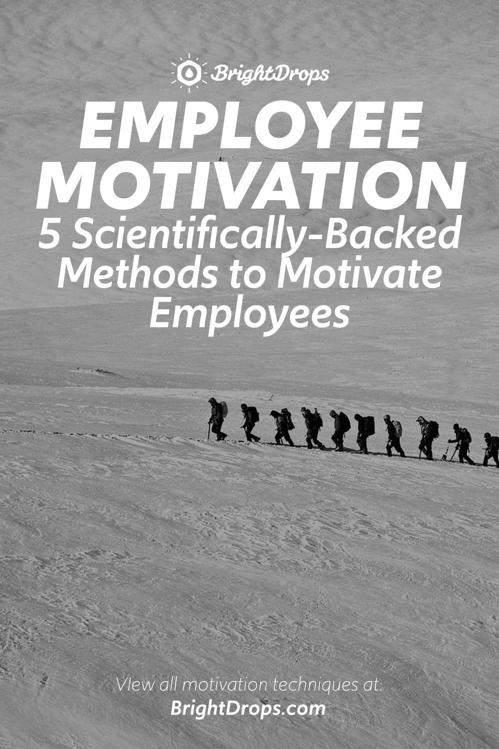 How to Motivate Employees: 5 Scientifically-Backed Methods to Get Results