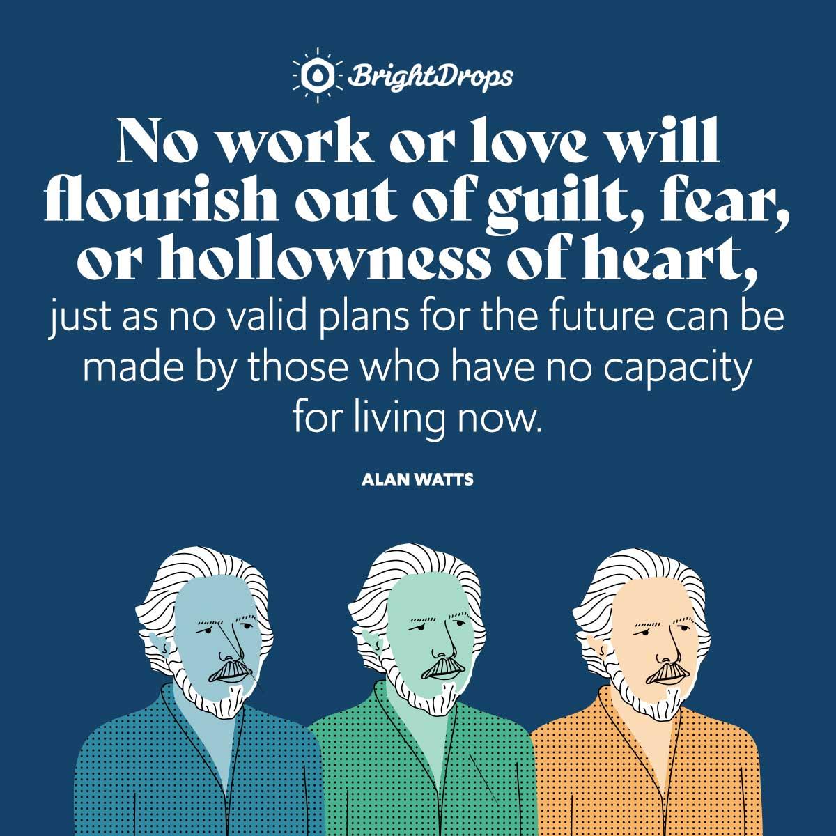 Alan Watts Quotes On Love