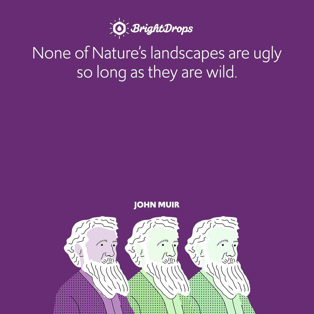 None of Nature's landscapes are ugly so long as they are wild.