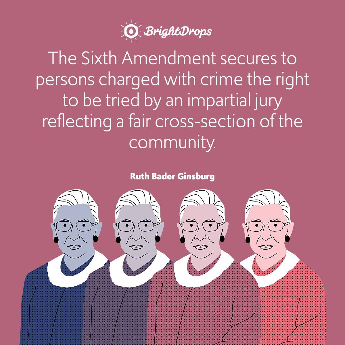 The Sixth Amendment secures to persons charged with crime the right to be tried by an impartial jury reflecting a fair cross-section of the community.