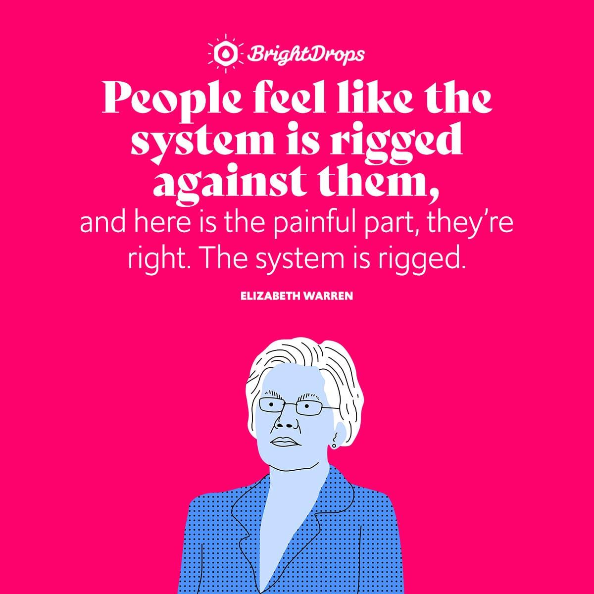 Elizabeth Warren Quotes